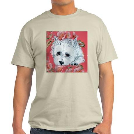 Westie Patience is a Virtue Light T-Shirt
