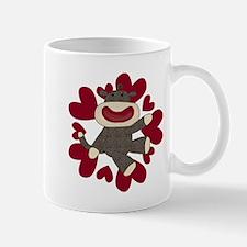 Sock Monkey Love Mug