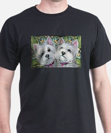 Westie Pair of Pals T-Shirt