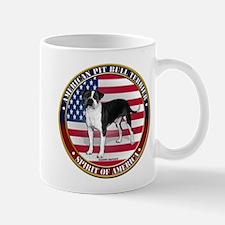 patriotic american pit bull t Mug