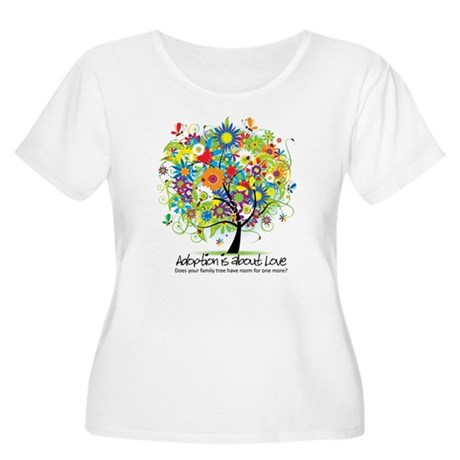 2-FAMILY TREE ONE MORE Plus Size T-Shirt
