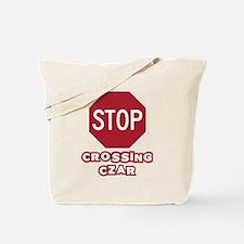 Crossing Czar Tote Bag