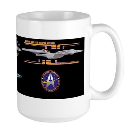 USS Enterprise NCC-1701-E Large Mug
