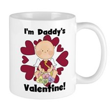 Boy Daddy's Valentine Mug