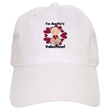 Boy Auntie's Valentine Baseball Cap