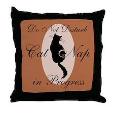 Cat Whisperer Throw Pillow
