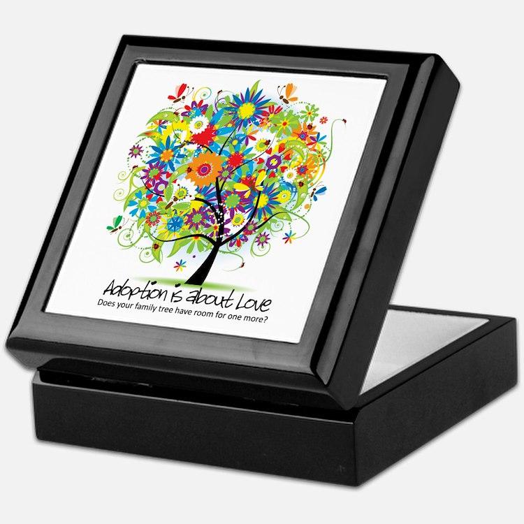 Cute Ukraine adoption Keepsake Box