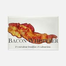 Cute Bacon Rectangle Magnet