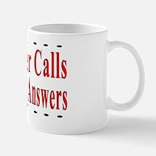 When Disaster Calls Amateur R Mug