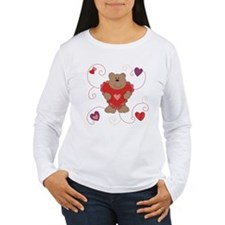 Pretty Valentine Bear T-Shirt