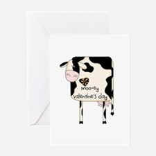 Moo-ey Valentine's Day Greeting Card