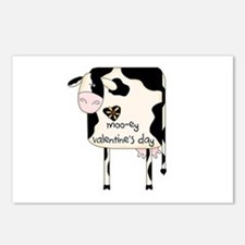 Moo-ey Valentine's Day Postcards (Package of 8)