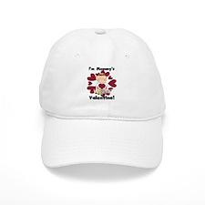 Girl Mommy's Valentine Baseball Cap