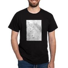 Snowman Sleigh T-Shirt