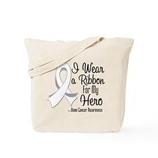 Hero - Bone Cancer Tote Bag