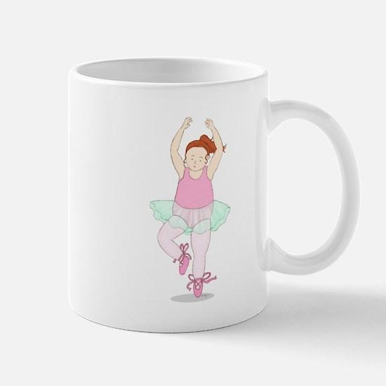 Wholesome Pirouetting Ballerina Mug