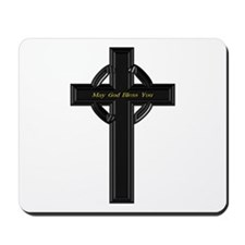 May God Bless You - Mousepad