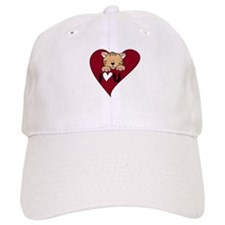 Kitten I Love U Baseball Cap