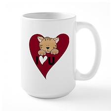 Kitten I Love U Mug
