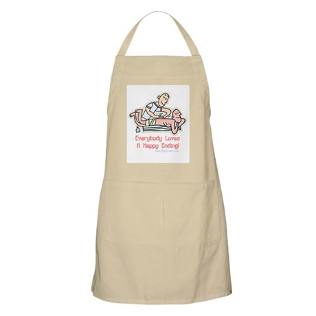 Happy Ending BBQ Apron