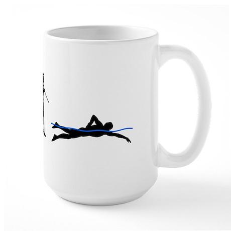 Swim Evolution Large Mug