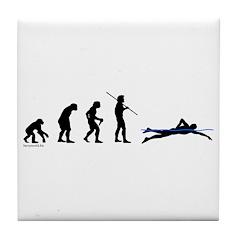 Swim Evolution Tile Coaster