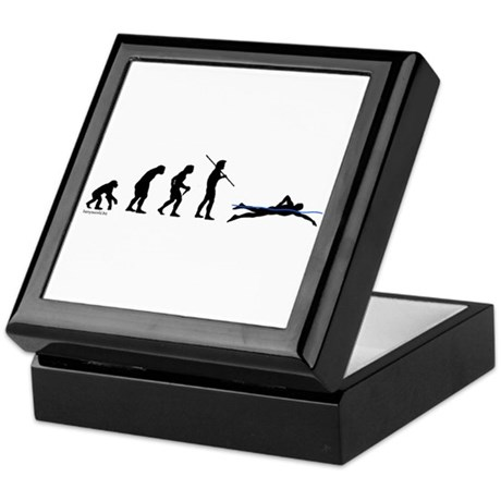 Swim Evolution Keepsake Box