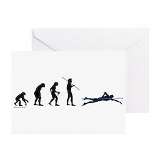 Swim Evolution Greeting Cards (Pk of 20)