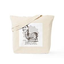 Cool Obama Llama Tote Bag