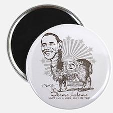 Cool Obama Llama Magnet