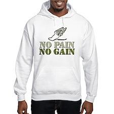 No Pain No Gain Track Hoodie