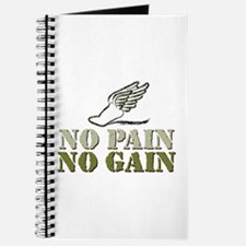 No Pain No Gain Track Journal