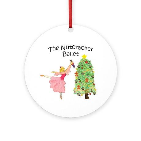 magical clara,nutcracker Ornament (Round)