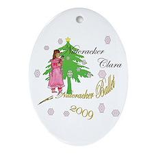 Nutcracker ornament Oval Ornament