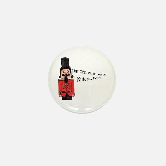 Nutcracker Star Mini Button