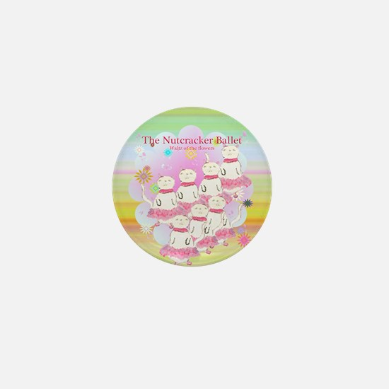 Nutcracker Waltz of Flowers Mini Button