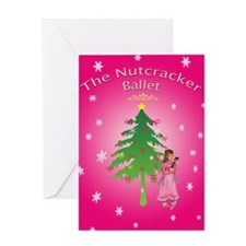 Clara,nutcracker ballet Greeting Card