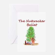Nutcracker Ballet Greeting Card