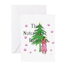 Nutcracker Ballet Greeting Card Greeting Card
