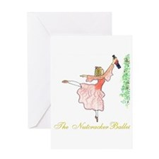 Clara and her Nutcracker Ball Greeting Card