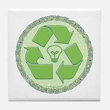 Think Green 2 Tile Coaster