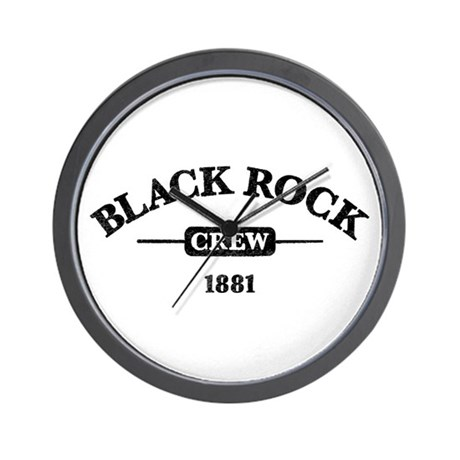 Black Rock Crew Wall Clock