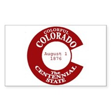 Colorado Rectangle Decal