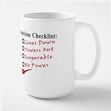 Emergency Comm Checklist Mug