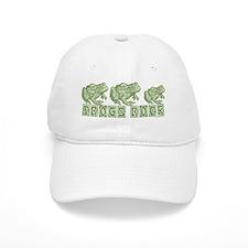 Frogs Rock Baseball Cap