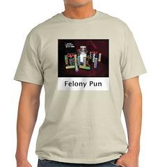 PUNditry Ash Grey T-Shirt