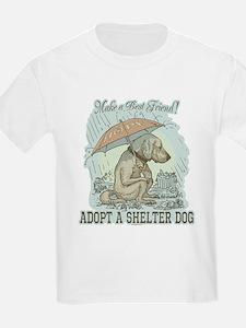 Best Friend Rescue Dog T-Shirt