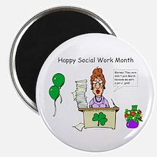 Social Work Month Desk2 Magnet