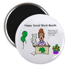 Social Work Month Desk2 Magnets (10 pack)