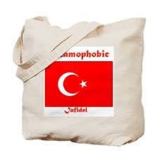 THE RELIGION OF PEACE Tote Bag